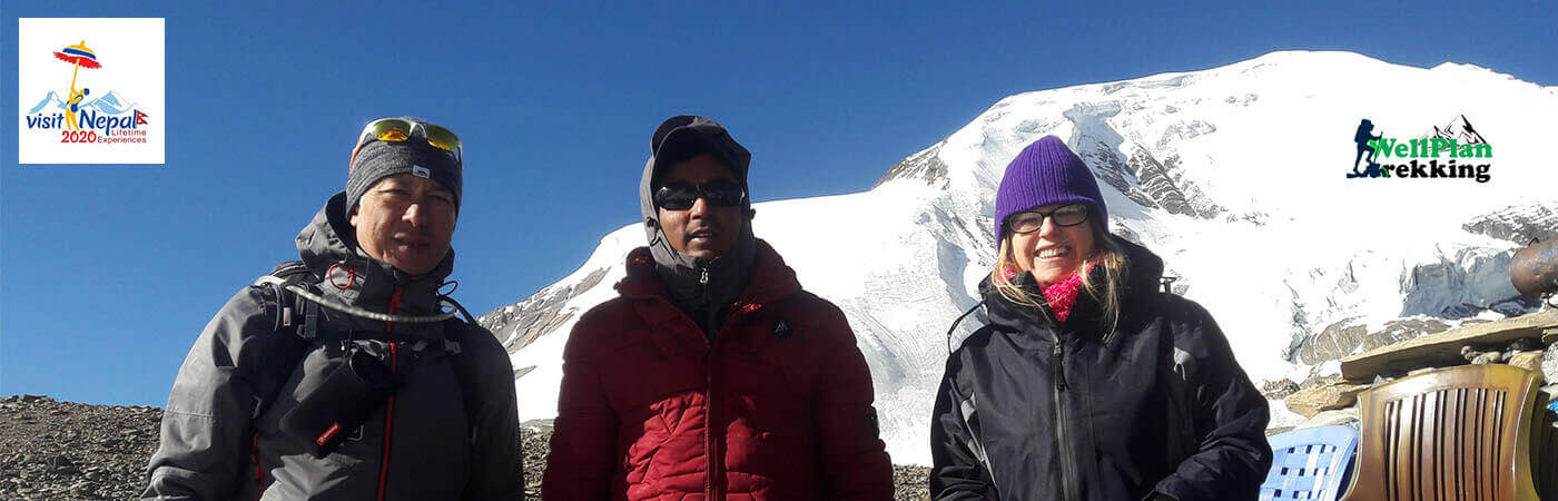 guests at short annapurna circuit trek