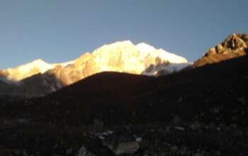 Short Manaslu base camp Trek